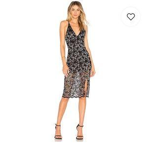 NBD Sitabella Mini/Midi Cocktail Dress